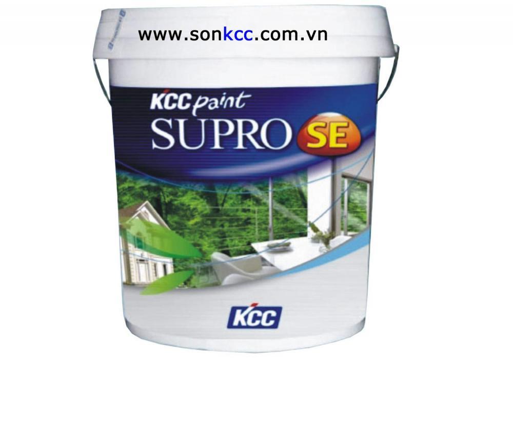 Sơn nước nội thất KCC Paint(trắng) -Supro Intex 18L