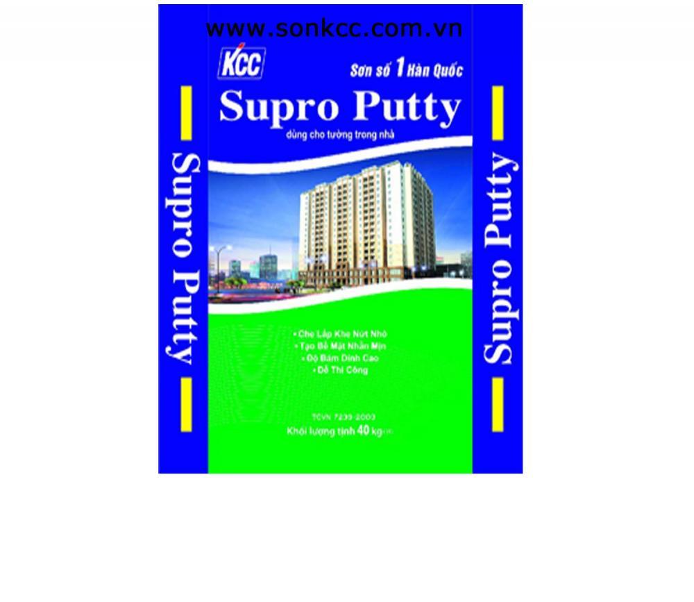 Bột trét nội thất KCC - Supro Putty Interior 40kg