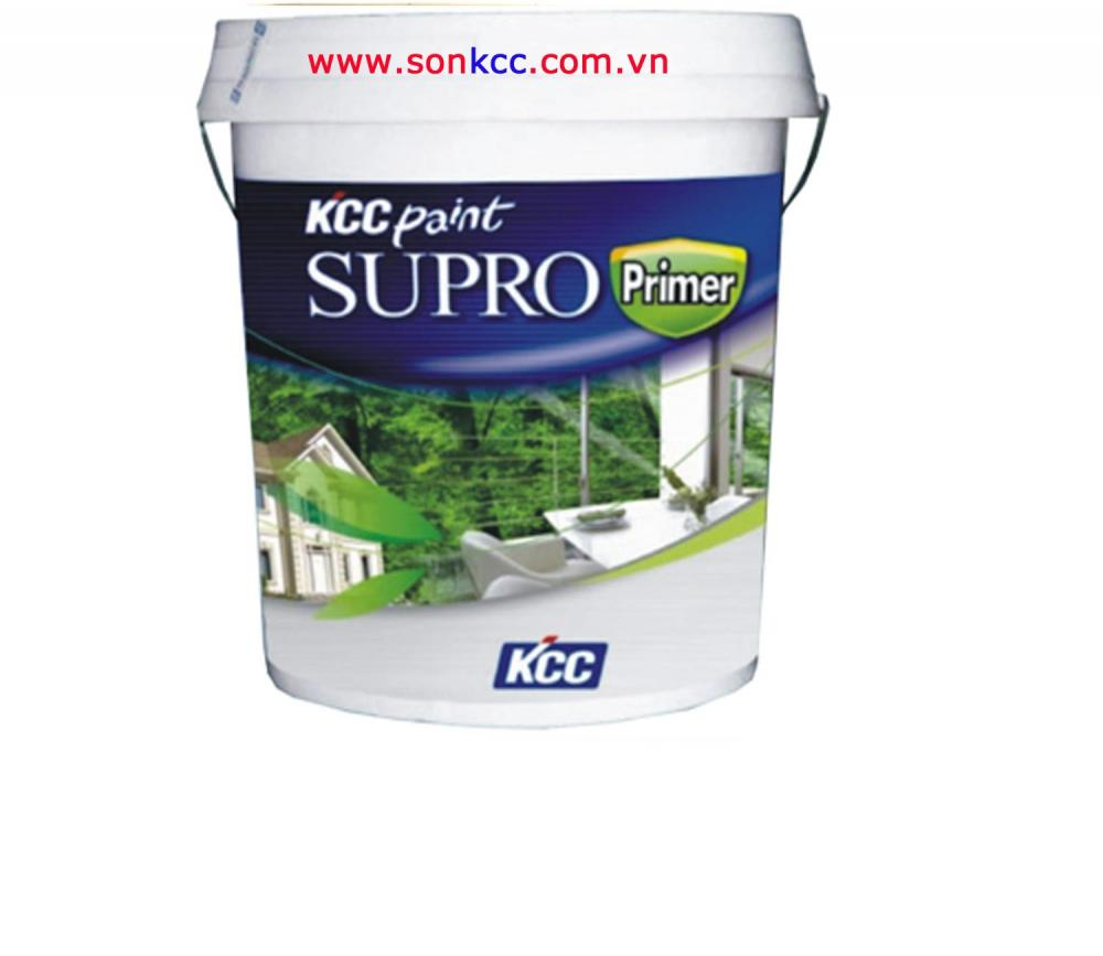 Supro Primer-Sơn lót nội & ngoại thất KCC 20L